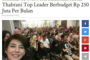 Seminar 3i-Networks di Hotel Amalia Bandar Lampung