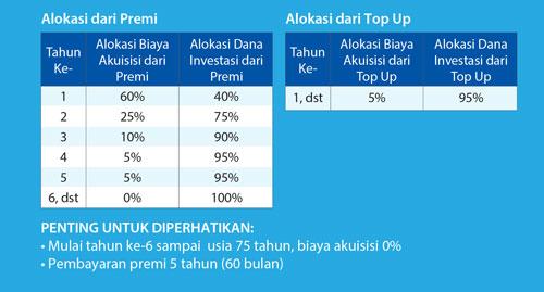 alokasi biaya akuisisi dan investasi 3i networks