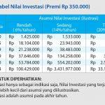 Ilustrasi Tabel Nilai Investasi 3i Networks