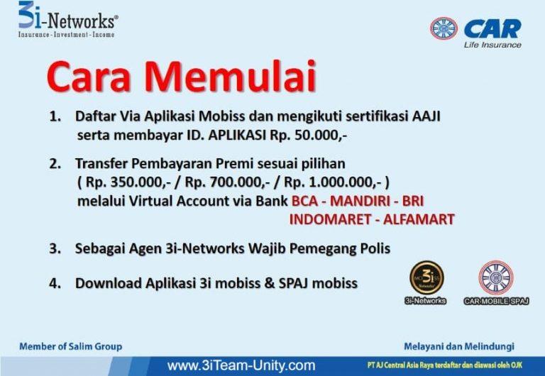 Cara Memulai Daftar 3i Networks